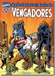 P00013 - Biblioteca Marvel - Avengers #13