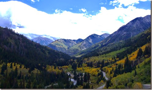 Bogan Flats from the pass