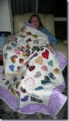 hearts quilt 001