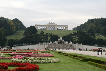 The Gardens at Schonbrunn