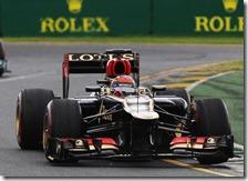 Raikkonen ha vinto il gran premio d'Australia 2013