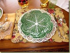 ham cabbage plate