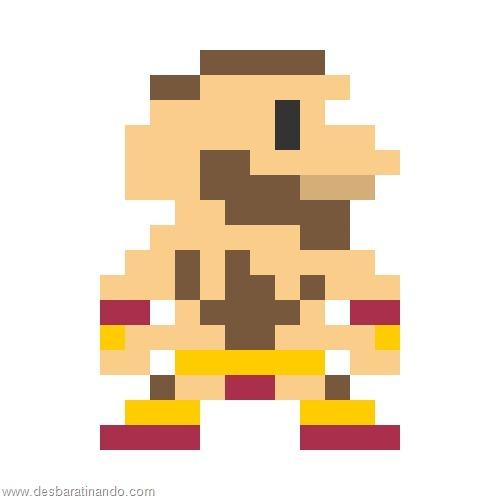 super herois e viloes em 8 bits street fighter (2)