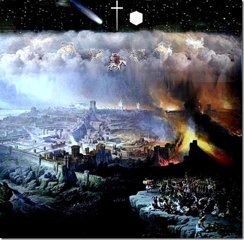 Jesus in His Kingdom, New Jerusalem