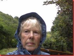 me in rain hat