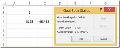 Goal Seek in Excel - Goal Seek Final Answer