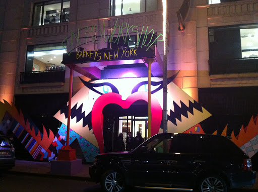 And here is the entrance to Gaga's Workshop. Unfortunately it was closed when I arrived to take photos.