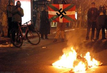 Basque Abertzale Nazi Rioters