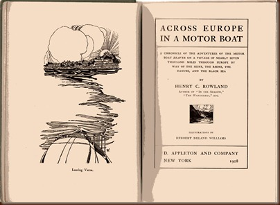 Across Europe in a Motor Boat 1907