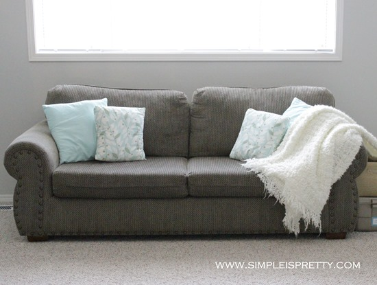 Couch Before from www.simpleispretty.com
