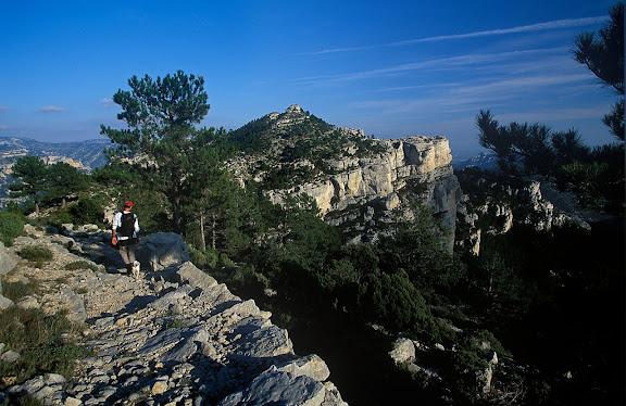 Camí del Portell de l'Infern (camí vell de la Sénia), els Ports, Fredes, La Tinença de Benifassar, Castelló 2002.10