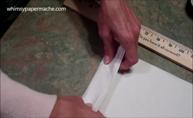 fold tissue
