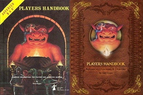 New ADD Players Guide Covers