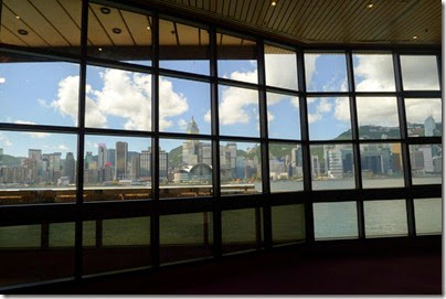 Victoria Harbour View from Hong Kong Museum of Art 香港美術館
