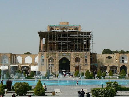 Imam square Isfahan: Ali Qapu