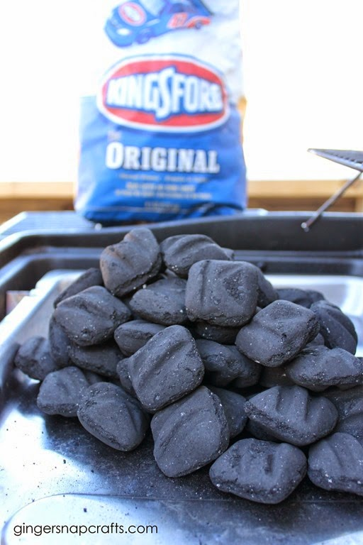 cooking with Kingsford Charcoal