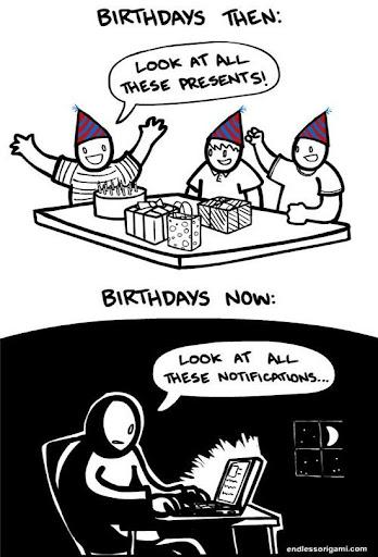 Cómo se celebran los cumpleaños hoy