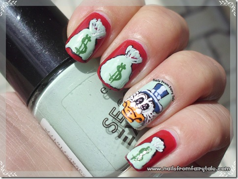 uncle scrooge nail art 4