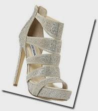 Steve Madden Rhinestone Embellished Sandals