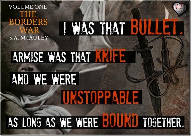 Knife, bullet