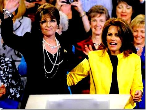 Sarah Palin - Michele Bachmann
