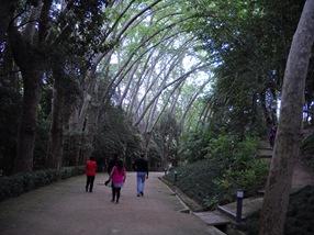 jardín La Concepción, Málaga