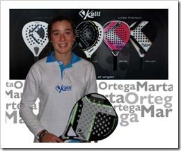 La jugadora Marta Ortega de 15 años, forma parte desde hoy de la marca KAITT Excellence