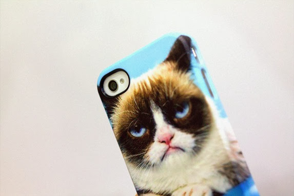 CASEABLE GRUMPY CAT PHONE CASE 4