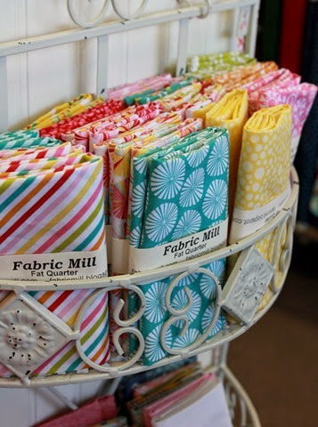 Fancy Free fat quarters
