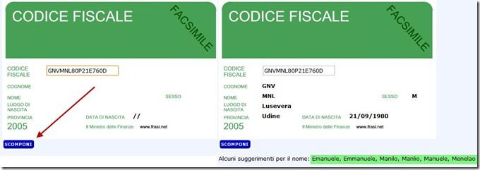 calcolo del codice fiscale inverso[5]