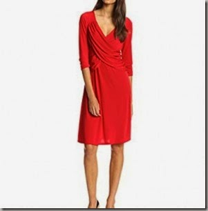 NY-Collection-Womens-B-Slim-34-Sleeve-Cross-Front-Dress