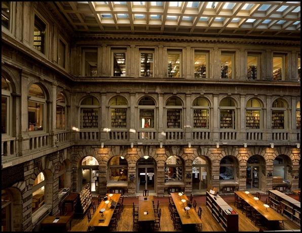Bibliothèque Sansovino, Venise , Italie-5