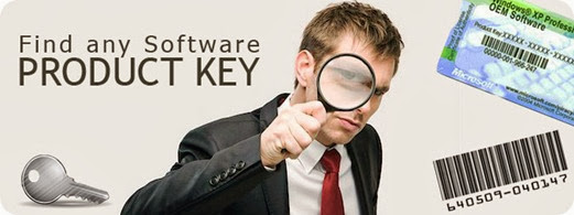 how to find serial key for any software