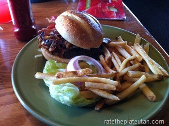 Applebee's Cowboy Burger