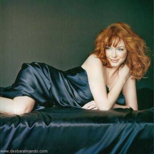 Christina Hendricks linda sensual sexy sedutora decote peito desbaratinando (35)