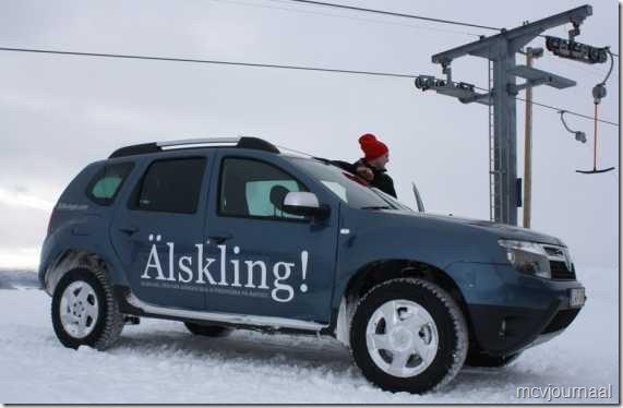 Slot auto bevroren