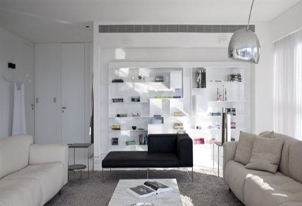 Apartamento de lujo en tel aviv minimalista y for Casa minimalista 300m2