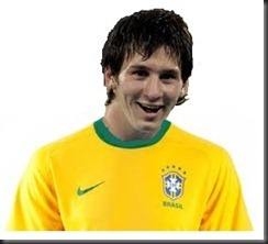 Messi pode ser nosso