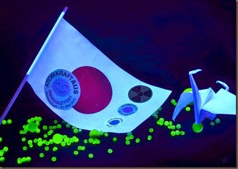 Uran Glas Uranglas Fukushima Jahrestag Hibakusha