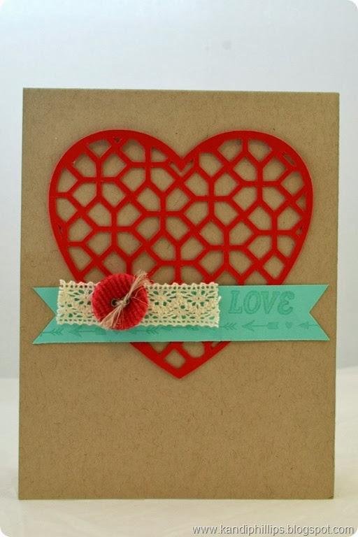 Lattice Heart Love