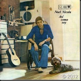 Noel Nicola 1980 - Así como soy - frontal