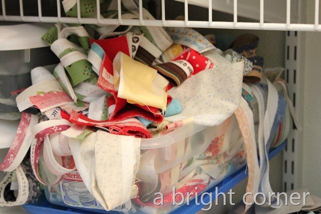 selvedge bin