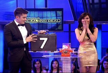 Kapamilya Deal Or No Deal - Jennylyn Mercado