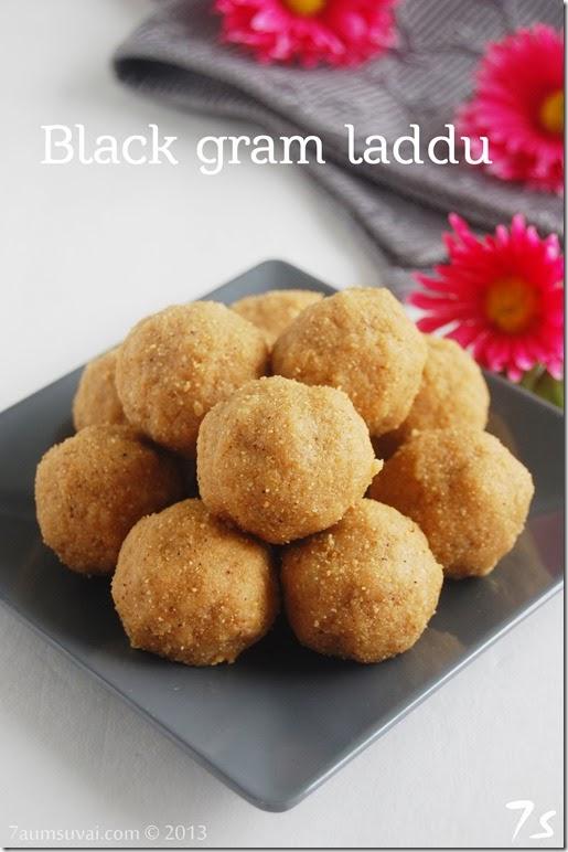 Black gram laddu