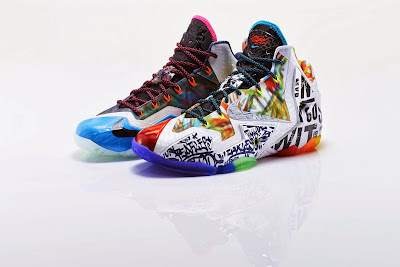 nike lebron 11 xx what the lebron 1 16 Nike Basketball Shares New What The #@*% Designs for LBJ & KD