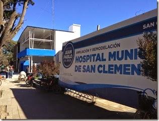 La remodelación del Hospital Municipal de San Clemente está próxima a inaugurarse