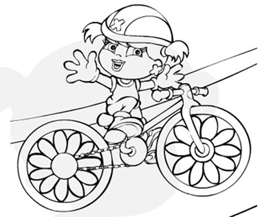 desenho-xuxinha-bicicleta