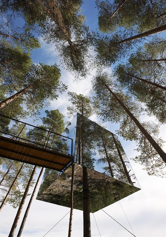 tree hotel by tham & videgard arkitekter 2