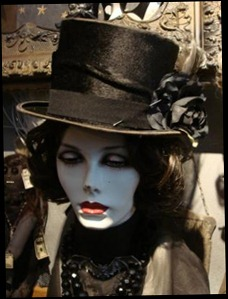 One nice gothic top hat I wouldn't mind owning