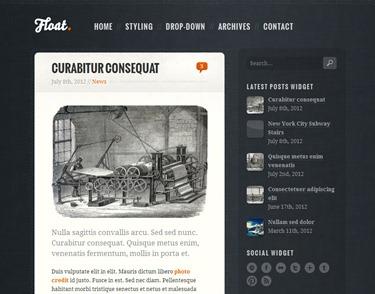 Float Blogger Teması